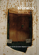 Efímera Revista Vol. 1 Núm. 1 Año 2010